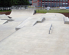 Derby skate park - Click on image to enlarge